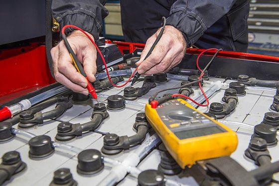 assistenza batterie trazione